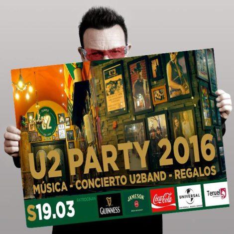 U2 – The Miracle (of Joey Ramone) Live U2Band en Teruel (Flanagans)