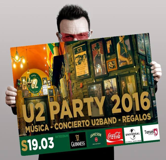 Party U2 con U2Spain