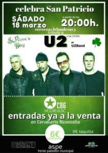 U2nband fiesta Sant Patrick