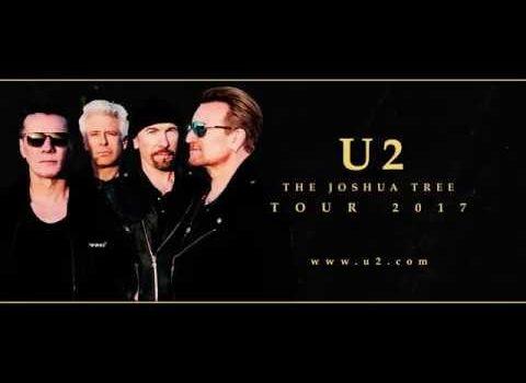 El diseño de la gira de U2 The Joshua Tree 30 aniversario.