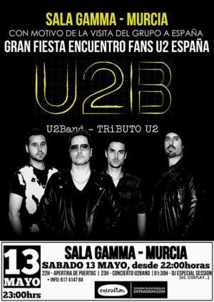 Sala Gamma especial gira U2 + 10 aniversario U2Band.