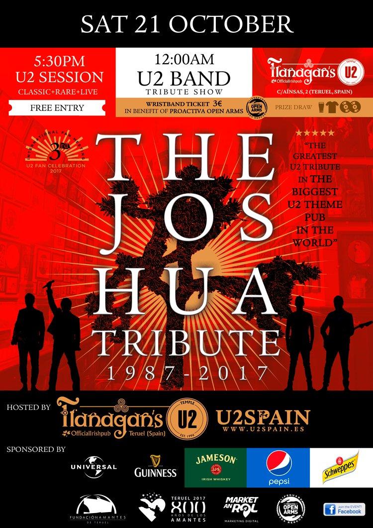 Teruel – Flanagans U2 Party